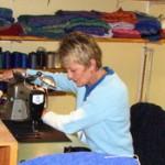 Sheila Brockington-seamstress